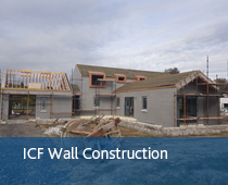ICF wall construction - Boylan Engineering and Environmental Consultancy