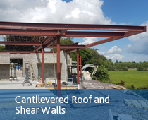 cantilevered roof and shear walls - Boylan Engineering and Environmental Consultancy