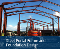 steel portal - Boylan Engineering and Environmental Consultancy