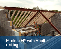 Modern HS with Vaulte Ceiling - Boylan Engineering and Environmental Consultancy